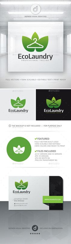 Eco Laundry Logo