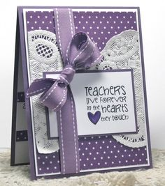 teachers live... by rosigrld - Cards and Paper Crafts at Splitcoaststampers