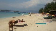 sun bathing yuhuuuu... parasdise in my country