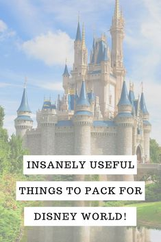 If you're heading out to Disney and wondering what to put in your luggage you're going to love this insanely useful Disney packing list! Packing List For Disney, Disney World Packing, Disney On A Budget, Disney World Vacation Planning, Walt Disney World Vacations, Disneyland Trip, Disney Planning, Vacation Packing, Packing Tips