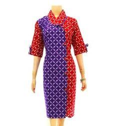 dress batik modern online