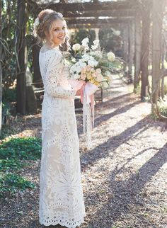 DREAM WEAVER Vintage French lace wedding by LostinParisBridal