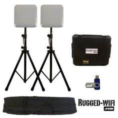 Portable Indoor WiFi kit - 2 APs