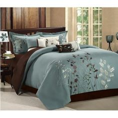 Prom 12-piece Comforter Set Queen Size Sage, Bedskirts,Shams,Decorative Pillows, and Sheet Set Included