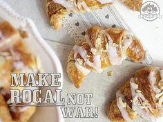 Make rogal, not war, czyli pieczemy rogale marcińskie