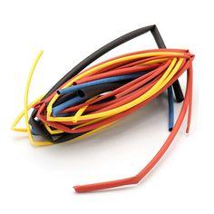 1 Set 126 cm Krimpkous Krimpkous Tubing Hoezen Draad Elektronische Isolatie Materialen Kit 1mm 1.5mm 2.5mm 3mm 4mm
