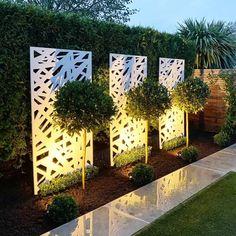 Garden Wall Designs, Back Garden Design, Modern Garden Design, Backyard Garden Design, Garden Art, Fence Wall Design, Small Garden Wall Ideas, Garden Design Ideas Uk, Cool Garden Ideas