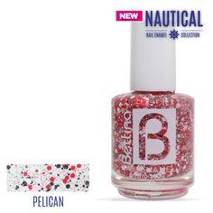 """De la nueva colección de #Bettina #NailEnamel, el color """"Pelican"""" para usar sólo o como acento en tus uñas. #NailPolish #Nails #NewColor"""
