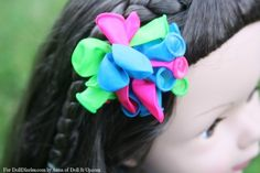 A Festive Balloon Hair Clip for Your Dolls — Doll Diaries