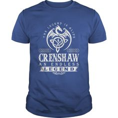 The Legend Is Alive CRENSHAW An Endless Legend