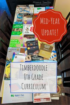 8th Grade Homeschool Curriculum Mid-Year Review
