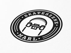 SKATESZENE MARL Logo by Daniel Vierich