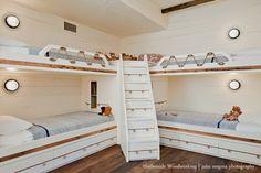 Shipshape Bunk Room, Custom Furniture » Harborside Woodworking | Cape Cod MA Custom Woodworking Company