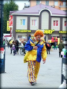 TDT - 5 - Irkoustk - Clown alcoolique