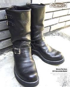 """Online vintage info: 2011 WESCO x LANGLITZ HORSEHIDE """"BOSS"""""""