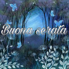 Saraseragmail.com.. Buona Serata. Good Night Cards, Neon Signs, Gif, Dolce, Instagram, Good Night, Dinner