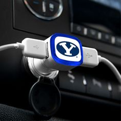 BYU Cougars USB Car Charger