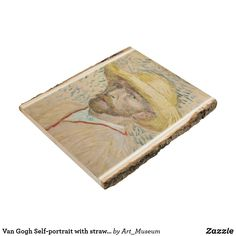 Van Gogh Self-portrait with straw hat Wood Panel Van Gogh Prints, Van Gogh Self Portrait, Inspirational Text, Wood Paneling, Wood Wall Art, Wood Print, Hat, Artwork, Pictures