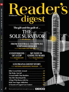 October 2014 Reader's Digest Cover