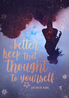 Young Adult-Premadecover für Autoren im Selfpublishing  Schreiben  Autorenleben  Buchcover  Coverliebe   Bücherliebe Dark Romance, Buch Design, Names, Thoughts, Authors, Writing, Things To Do, Ideas
