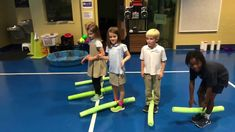 Best Gym Games For Kids Pool Noodles Ideas Physical Education Lesson Plans, Elementary Physical Education, Elementary Pe, Pe Lesson Plans, Gym Games For Kids, Yoga For Kids, Exercise For Kids, Kid Yoga, Pe Activities