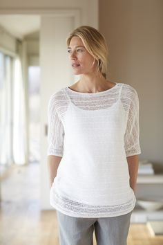 Pure Jill airy pullover
