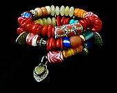 Mother's Day SALE BOHO Beaded Bracelets by TheJoyMoosCollection