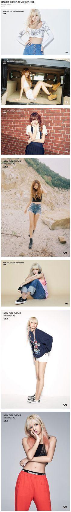 YG LIFE | NEW GIRL GROUP – MEMBER #2 : LISA…