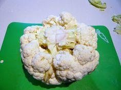 Il ricettario di Titti: Pulire, cuocere in pentola a pressione e condire un cavolfiore Cauliflower, Vegetables, Cooking, Food, Kitchen, Cauliflowers, Essen, Vegetable Recipes, Meals