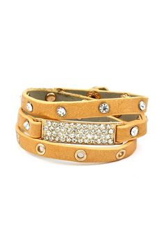 Chic wrap with crystals. Cute. |Jewelry - Daily Deals|