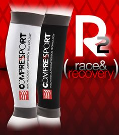 Compressort | Calf Guards | R2 Race & Recovery | Black