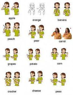 American Sign Language Intro Sheet by Speech-Language Pathology Resources Baby Sign Language Chart, Sign Language Book, Sign Language Basics, Sign Language For Kids, Sign Language Phrases, Sign Language Alphabet, Learn Sign Language, Sign Language Interpreter, British Sign Language