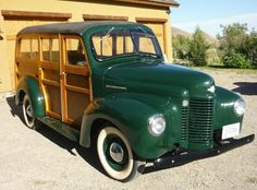 1946 International K-1 woodie..Re-pin brought to you by agents of #carinsurance…