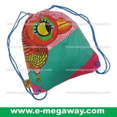 #Eco #Eco-Friendly #Cotton #Print #Backpack #BookBag #Drawsting #Kit #Bag #Kids #Children #Girls #Teenager #Drawing #Painting #Writing #Art #Cartoon #Disney #TingaTales #Tinga #Tales #Bird #Megaway #MegawayBags #CC-1301-51642
