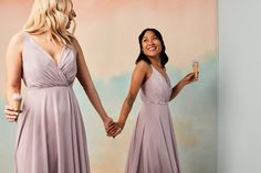 Lovely in lavender! Dress your maids in a gorgeous pastel lavender shade perfect for your spring or summer wedding! | #bridesmaiddresses #bridesmaids #lavendermaids #purplebridesmaids | Style F20064 in Lavender Haze | Shop this style and more at davidsbridal.com Lavender Bridesmaid Dresses, Bridesmaids, Wedding Dresses, Purple Table Decorations, Summer Wedding, Pastel, Spring, Pretty, Shop