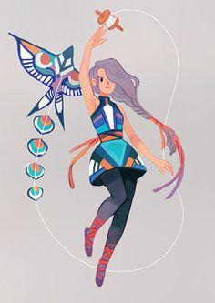 magical girl month - week 1kite magic!https://streak.club/s/414/magical-girl-streak