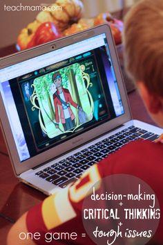 video game for improving decision-making skills @QuandaryGame | teachmama.com #digitalkids #quandarygame