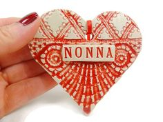 Nonna Ornament, Italian Grandmother, Christmas Ornament, Mother's Day Gift, Nonna Birthday,New Grandmother,Grandmother Gift,Nonna Christmas