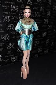 Know this= Daphne Guinness wore the shoes first & best, Ms. Gaga.