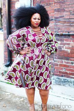 New THE XEINA Dress Maroon Marsala by AsikereAfana on Etsy