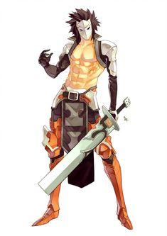 Zenki by MizaelTengu on DeviantArt Fantasy Character Design, Character Creation, Character Design Inspiration, Character Concept, Character Art, Concept Art, Character Outfits, Character Ideas, High Fantasy