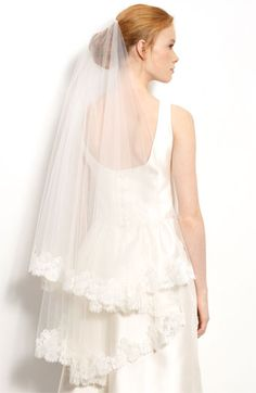 Nina 'Duchess' Veil @Nordstrom  #wedding