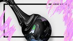 CHOPSHOP 2.5, LAURA MILLER, 2015 https://www.behance.net/FOXTROTDESIGN #photoshop #drip #modern #postmodern #melting #ooze #white #black #grunge #pineapple #netart #newwave #design #graphic design #cinema4d #3d #art #internet #digitaldesign #aesthetic