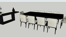 3d model of bureau naturaliste maisons du monde. réf: 129.774 prix