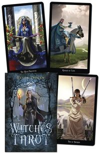Witches Tarot by Ellen Dugan. Not available until Sept 2012 but I sure want these!