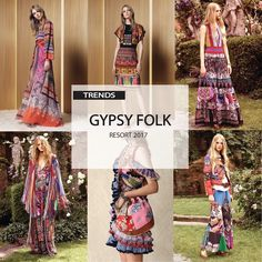[ TREND REPORT ] WOMEN'S - GYPSY FOLK . RESORT 2017