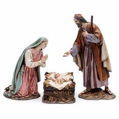 Trío Natividad 30 cm resina Moranduzzo | venta online en HOLYART