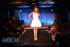 Meagan rocking the runway for Mac Duggal in Miami   Photo: Amanda Ferguson Photography @afergusonphoto  Hair & Makeup: Crown Style Glam @crownstyleglam