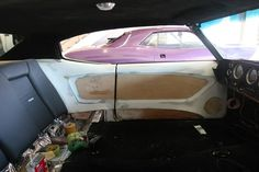 chevelle fiberglass door panel for a custom modern touch