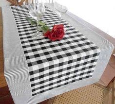 caminho-de-mesa-xadrez-preto-e-branco-mesa.jpg pixels - Travel tips - Travel tour - travel ideas